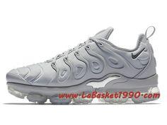 new style cbbce 3c3ff Nike Air VaporMax Plus Chaussures Nike VaporMax 2018 Pas Cher Pour Homme  Gris 924453-005-Achetez en ligne les articles signés Nike. Choisissez le  basketball ...