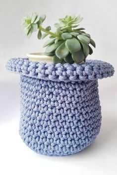 Crochet Storage Basket/ Baskets/ Storage/ Storage by NATAsoftitem