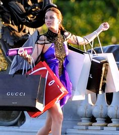 Blair Waldorf gets it. // 15 Signs You Have A Serious Shopping Habit