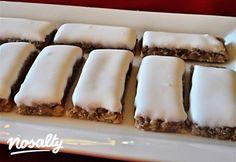 Omlós párizsi diós rudak | Nosalty Hungarian Cake, Hungarian Recipes, Biscuit Cookies, Cake Cookies, Chocolate Hazelnut, Food Inspiration, Sweet Recipes, Sweet Treats, Dios