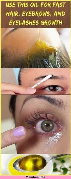 Amazing Results: Use This NATURAL Oil for Fast Hair, Eyebrows, and Eyelashes Growth ! – Mamboo