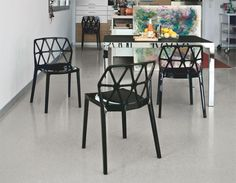 Calligaris Modern Alchemia Dining Chair with Triangular Cut Out Back - See more at: https://www.trendy-products.co.uk/product.php/9341/calligaris_modern_alchemia_dining_chair_with_triangular_cut_out_back_#sthash.B69EXF3Y.dpuf