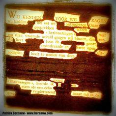 In het Web van Patrick Bernauw: Stiftgedichten / Black Out Poetry