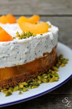 Aprikosen-Mohn-Torte • Schokokuss und Zuckerperle