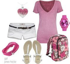 """""""College Life - by gail jones-hector"""" by sageflower on Polyvore"""