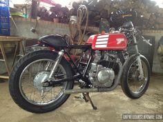 La Yamaha XS 400 de Julien...