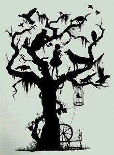 Tree of hidden stories