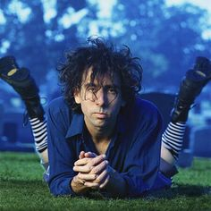 Tim Burton. I have to admit this is an extremely sexy picture.