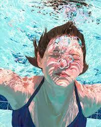 """Résultat de recherche d'images pour """"peinture personnage sous l'eau"""""""