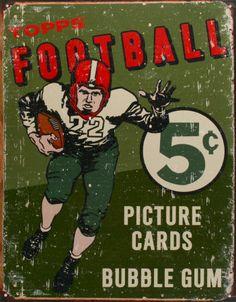 Topps Football 1956 vintage sport