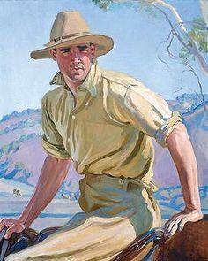 Hilda Rix Nicholas Australian artist, born in the Victorian city of Ballarat. Australian Painting, Australian Artists, Impressionist Artists, Le Far West, Western Art, Painting Inspiration, Vintage Art, Funny Pictures, Illustration Art