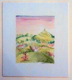Watercolour on Shikishi Board (sold)
