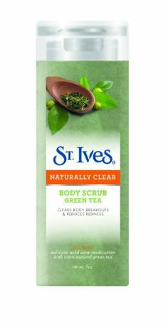 St. Ives Green Tea Naturally Clear Body Scrub, 9 Ounce (Pack of 2) by St. Ives. $10.90. St ives green tea naturally clear body scrub 9oz (in facial set). Save 35%!