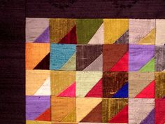 Selvage Blog: Silk Quilt is Finished!