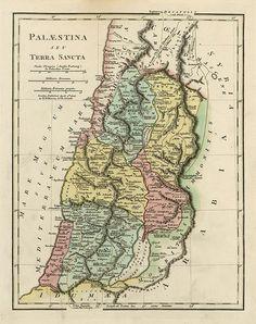 Ancient Palestine (Holy Land), 1808