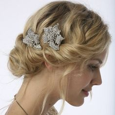 Comely Chignon and Decorative Clusters