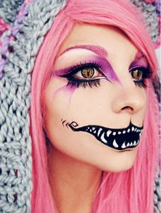 Feeling mischievous? The Cheshire cat is the choice for you.