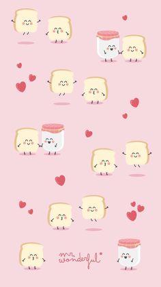 Cuties Cute Wallpaper Backgrounds, Wallpaper Iphone Cute, Cool Wallpaper, Pattern Wallpaper, Cute Wallpapers, Mr Wonderful, Trendy Wallpaper, Kawaii Wallpaper, Kawaii Drawings