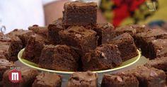 Brownie de chocolate com banana - TV Gazeta