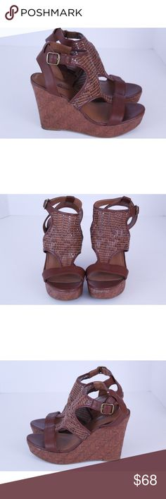 Lucky Brand Laffertie Woven wedge Sandal NWOB Lucky Brand Laffertie  Platform Wedge Sandals Size 8.5. Brand new without box. Never been worn. No modeling and no trades. Feel free to ask any questions. Lucky Brand Shoes Wedges