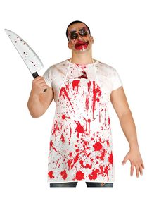 Blutige Schürze als Kostümzubehör für Horror Metzger Bloody apron as a costume accessory A kitchen apron soiled with blood stains as a Halloween costume accessory Blood-smeared butchers play a role in pretty much every horror film. It's really creepy when you think about the fact that butchers kill and cut animals every day without batting … Bloody apron as a costume accessory for horror butchers yazısı ilk önce Party üzerinde ortaya çıktı.