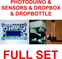 Photoduino-Sensors-Mariotte-Solenoid-Siphon-Object-Splash-Device-KIT-SET