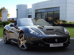 Used 2011 ( reg) Black Ferrari California for sale on RAC Cars