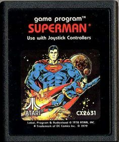 Atari Superman video game