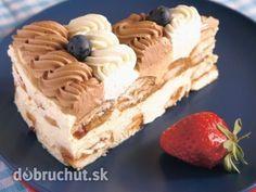 Nebeská pochúťka No Bake Cookies, No Bake Cake, Czech Recipes, Ethnic Recipes, Russian Recipes, Czech Desserts, Wonderful Recipe, Tiramisu, Cheesecake
