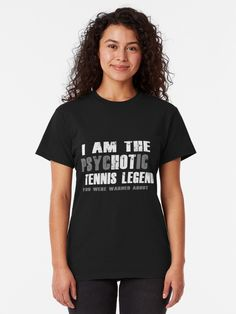 A design as a gift for every friend and fan who loves tennis. For a birthday present. Every tennis player is happy to receive a gift from a son or daughter, wife or husband and friends. For a fun day on the tennis court. BTNNS tennis match, tennis is life, tennis racket, tennis ball, tennis legend, hot tennis legend, legend on tennis court, funny tennis shirt, buy tennis shirt, funny tennis saying, tennis player gift, gift for tennis players, legend, legendary, gift idea, psychotic tennis…