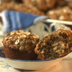 Date-Oat Muffins - and more muffin recipes from Delish