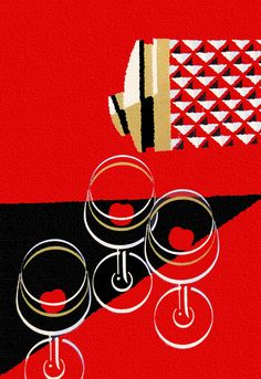39 Ideas Party Illustration Vintage Graphic Design For 2019 Cocktail Illustration, Illustration Photo, Illustrations, Graphic Illustration, Retro Kunst, Retro Art, Vintage Cocktails, Book Posters, Retro Posters