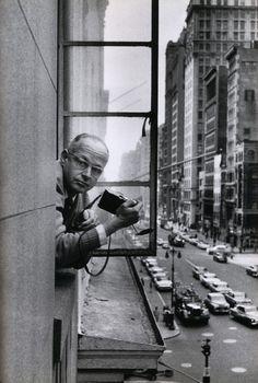 © René Burri, Henri Cartier-Bresson, New York, 1959