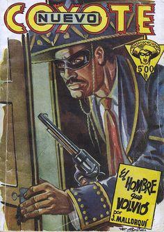 El hombre que volvió. Ed. Cliper, 1951. (Col. Nuevo Coyote ; 25)