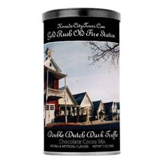 Nevada City Tours Ca. Gold Rush Old Fire Station Hot Chocolate Drink Mix - home decor design art diy cyo custom