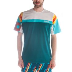 Adidas Canoe Island T-Shirt (Real Teal)