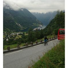 """Discovered by Crystal Pelletier, """"The starting point of our hike to the waterfalls!"""" at Geiranger, Geiranger, Norway Best Hikes, Hiking Trails, Waterfalls, Norway, Picture Video, Travel Photography, Survival, Around The Worlds, Crystal"""