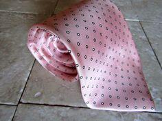 TED LAPIDUS SILK DESIGNER MEN'S DRESS SUIT PINK NECKTIE TIE FREE SHIPPING #TEDLAPIDUS #Tie