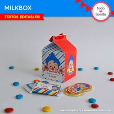 Plim Plim: cajita milkbox