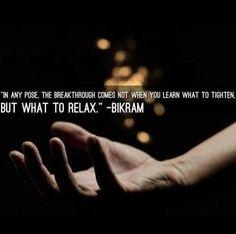 Bikram love!
