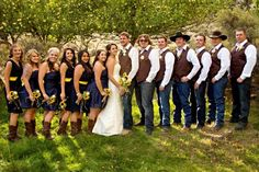 Country Wedding Groomsmen, Rustic Groomsmen Attire, Country Wedding Dresses, Country Groom Attire, Rustic Wedding Groomsmen, Country Weddings, Denim Wedding, Wedding Pics, Boquette Wedding