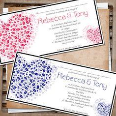I Design, You Print - Wedding Stationary, Birthday Invites, Baby Announcements etc.