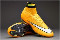Magista Nike Mercurial Superfly FG Fly line IV TPU soccer cleats yellow white black
