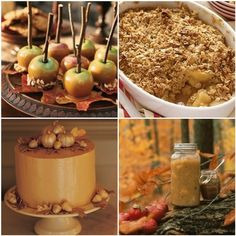 Fall themed wedding eats