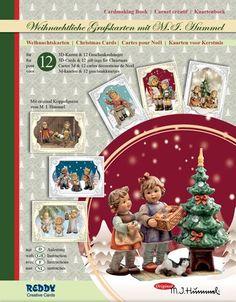 BASTELSETS / Craft Collection / CRAFT KITS: Staf Wesenbeek, Willem Haenraets en viele anderen. Bastelmappe Hummel Weihnachten Edition III