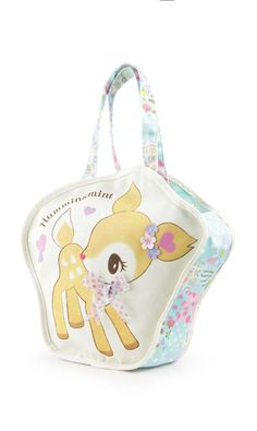 A darling #Hummingmint bag is a sweet way to carry all your essential items. Supercute!