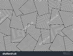 Abstract Overlap Square Pattern