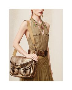 Ralph Lauren Vachetta Hunting messenger bag (Artisanal luxury) NWT$2750+tax #RalphLauren #luxuryhuntingtohorsingMessengerCrossBody