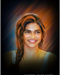 Image may contain: 1 person Pencil Portrait, Portrait Art, Portraits, Name Drawings, Dipika Padukone, Bollywood Photos, Bollywood Actors, Bollywood Celebrities, Indian Art Paintings