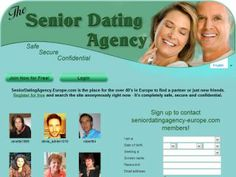 Senior Dating Agency Europe offers an online dating site for senior singles  over 40 looking for